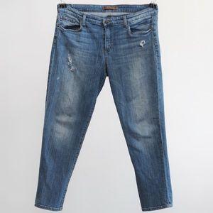 Joes Jeans   easy high water denim jeans